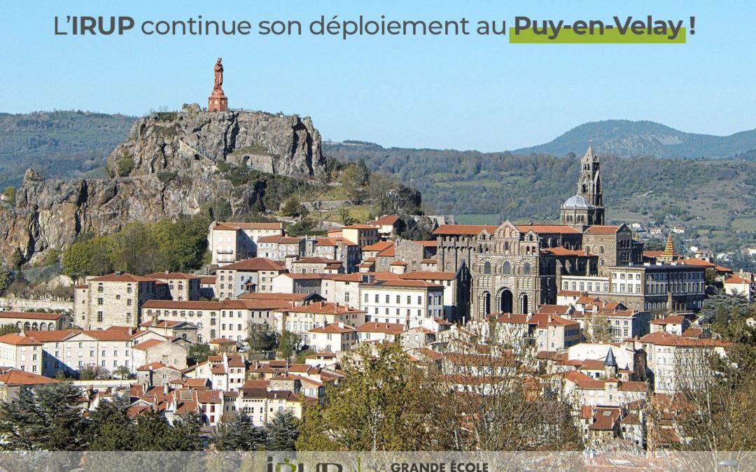 L'IRUP continue son implantation au Puy-en-Velay